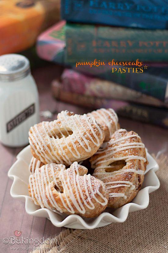 Pumpkin Cheesecake Pasties