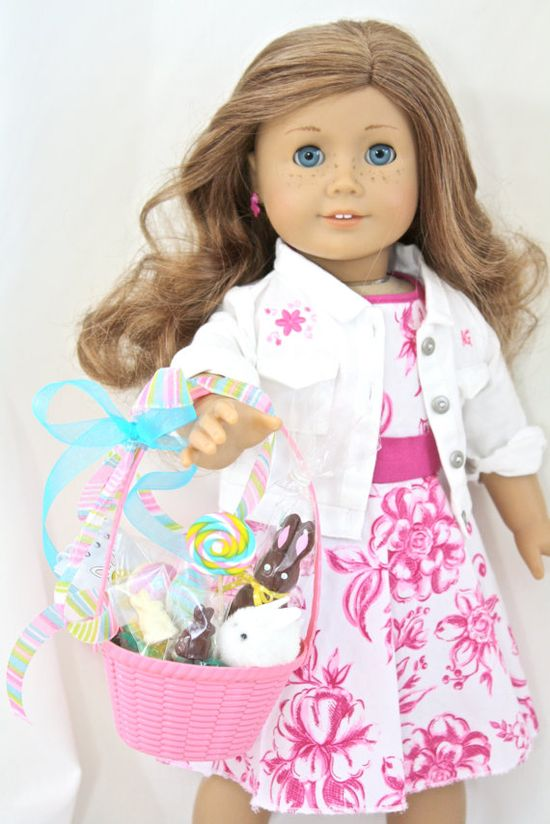 From Pippaloo- Your doll will be all set for Easter and for only $18!