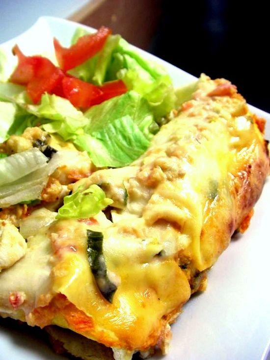Sour Cream Chicken Enchiladas - Recipe