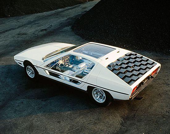 Lamborghini Marzal, built in 1967.