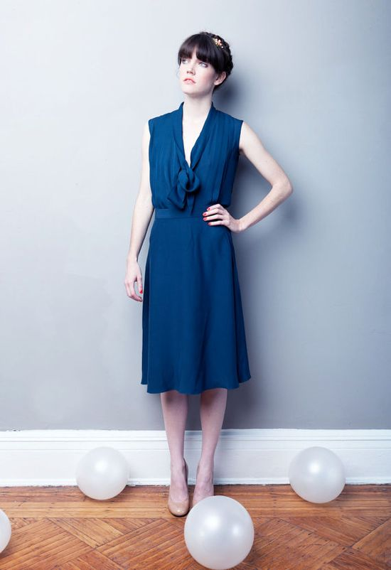 The Lady Day Blouse  MADE TO ORDER  Choose Your by alexandragrecco, $180.00