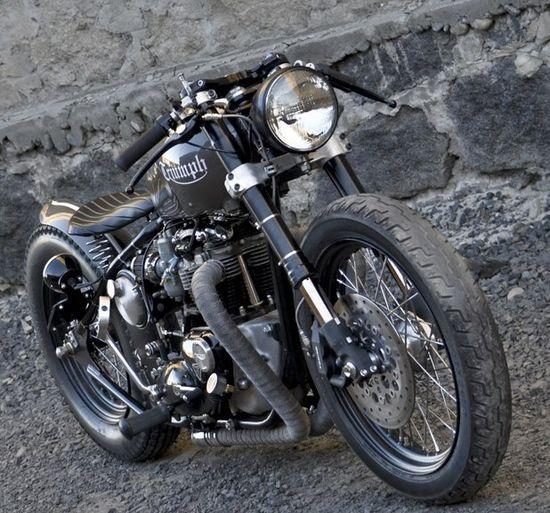 Triumph. via Cafe Racers Parma