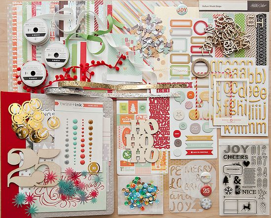 December Daily™ 2013 with Ali Edwards - Kit