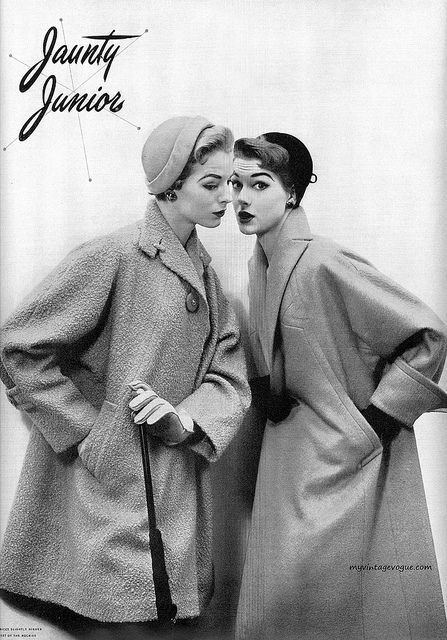 1950s. via My Vintage Vogue.