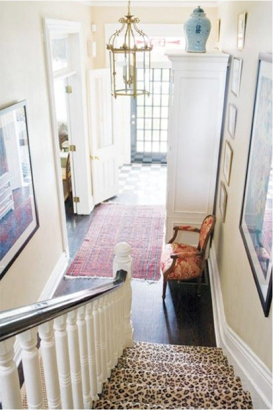 leopard carpet