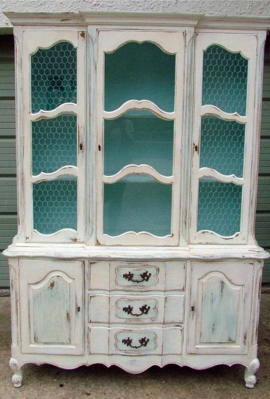 Shabby Chic Vintage French Country Hutch ? $800.00