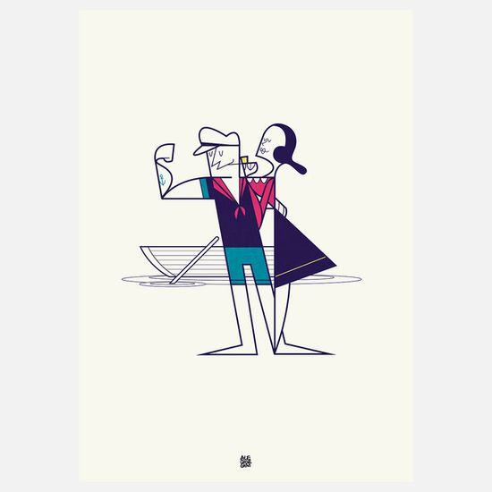 We Sail Away Print