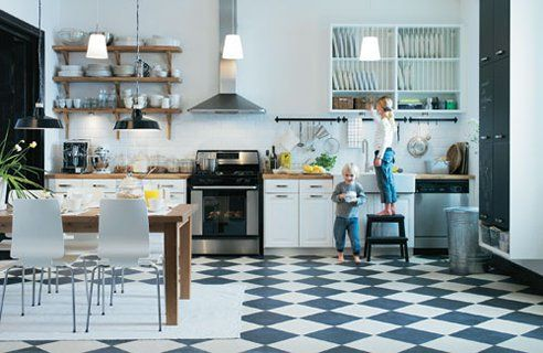 Can't get enough checkered floors