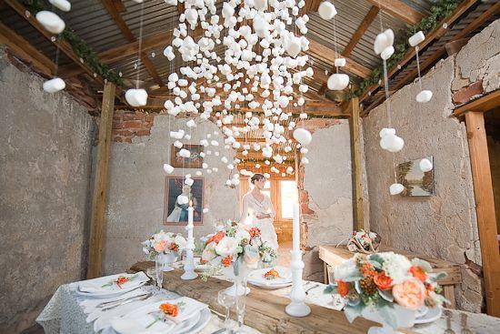 marshmallow chandelier