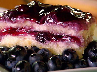 Blueberry Tiramisu