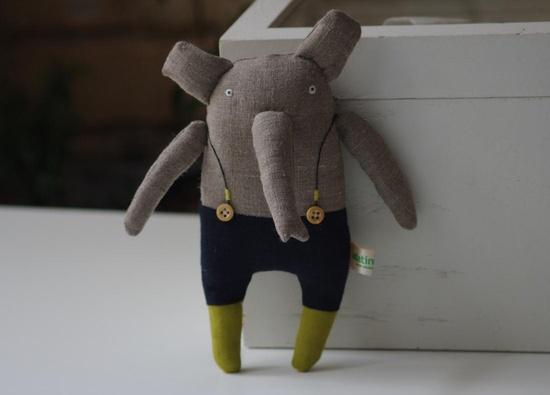 Elephant. $32.00, via Etsy.