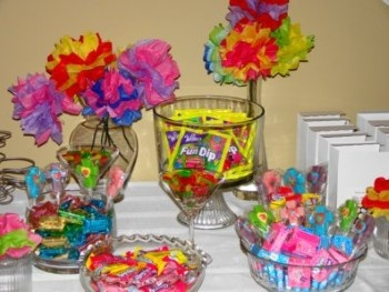Candy Birthday Party Ideas 6