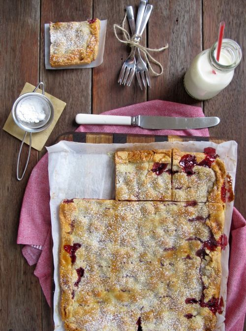 sour cherry pie bars