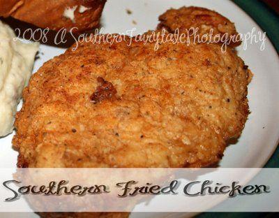 Southern Chicken Fried Chicken