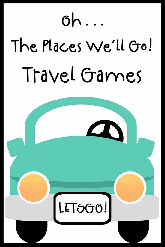 Keep them happy in the car with these travel games for kids