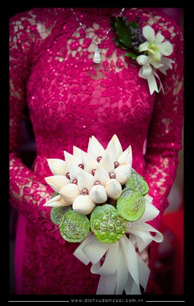 Lace Ao Dai, love the color