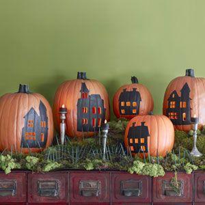 Halloween Ideas Orange and Black