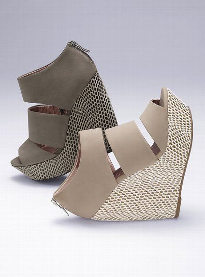 I so want these wedges