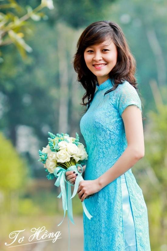 Ao dai for bridesmaid