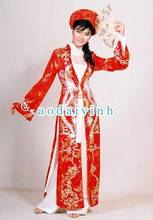 Exclusive Wedding Ao Dai ADV008 - Ao Dai Vinh