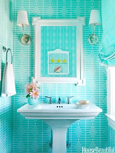 Quick and easy bathroom decorating