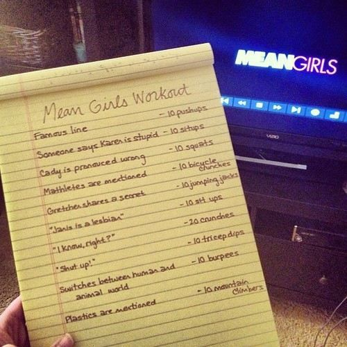 Mean girls workout!