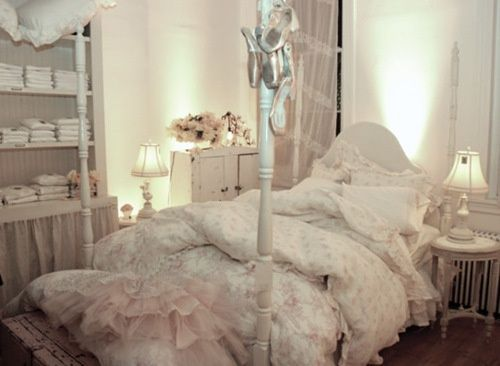 This is my own shabby chic bedroom. With - ideasforho.me/... -  #home decor #design #home decor ideas #living room #bedroom #kitchen #bathroom #interior ideas