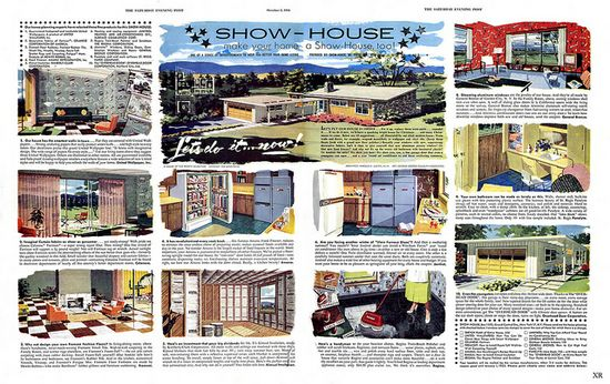 Tips from 1954 on how to make your home a show house. #vintage #1950s #homes