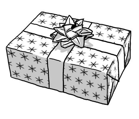Snowflake #gift #wrap #paper