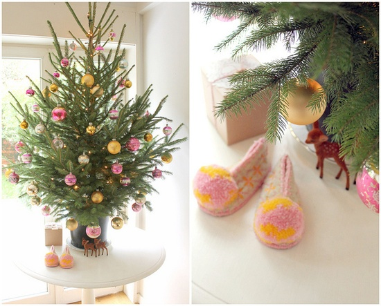 Christmas details in Pink & Gold by Susana Oliveira