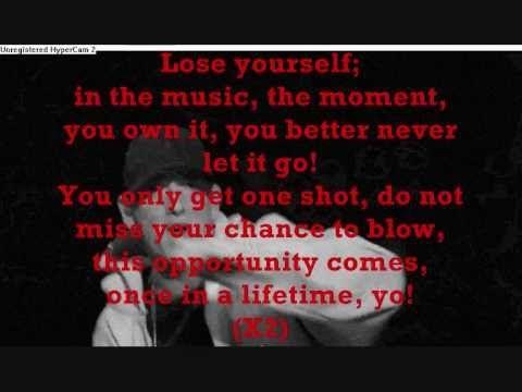 Eminem - Lose Yourself [Lyrics]