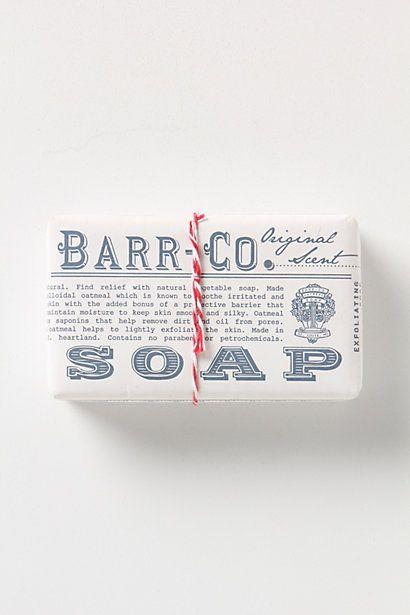Barr-Co. Soap Bar - Anthropologie.com