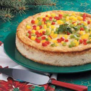 Crabmeat Appetizer Cheesecake Recipe