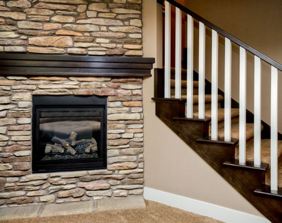 Stairs :: Ironwood Homes :: Interior Photos