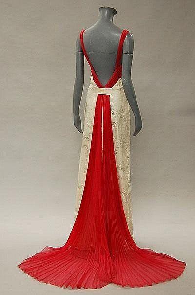 Evening Dress,  Late 1930s