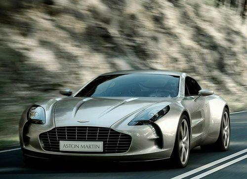 Aston Martin One 77. Something I will never need but can still drool over.