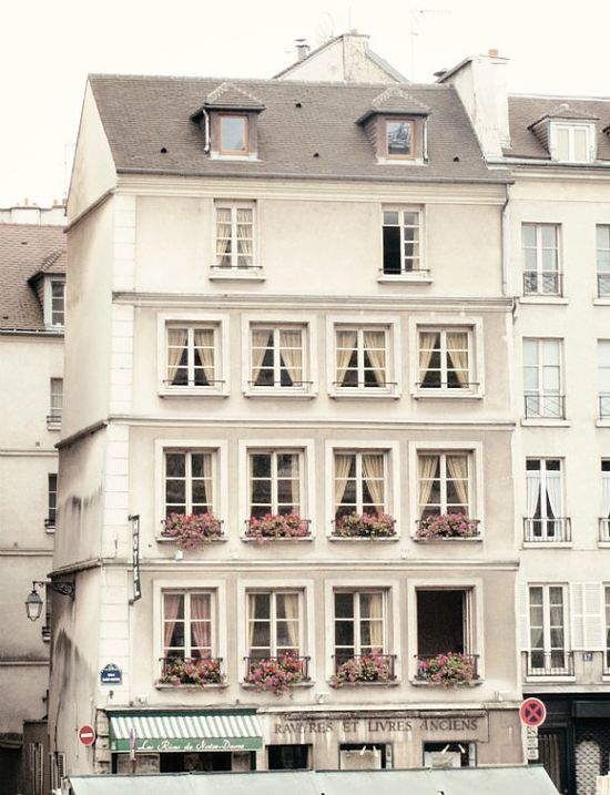 windows of Paris