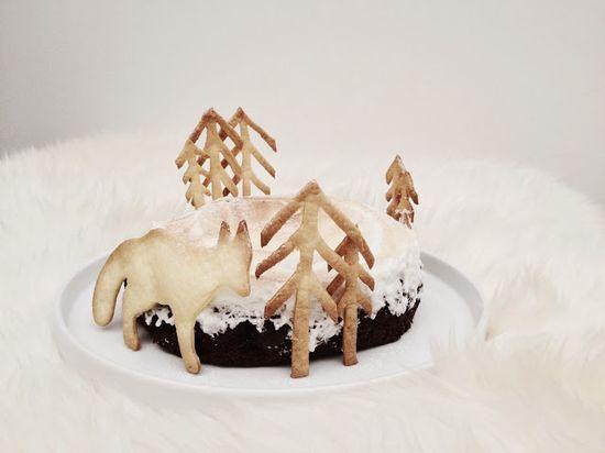 Chocolate cake // Elementary by Sara Truyens