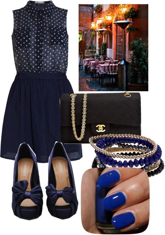 """Dinner with family"" by cayla-monzon ❤ liked on Polyvore"