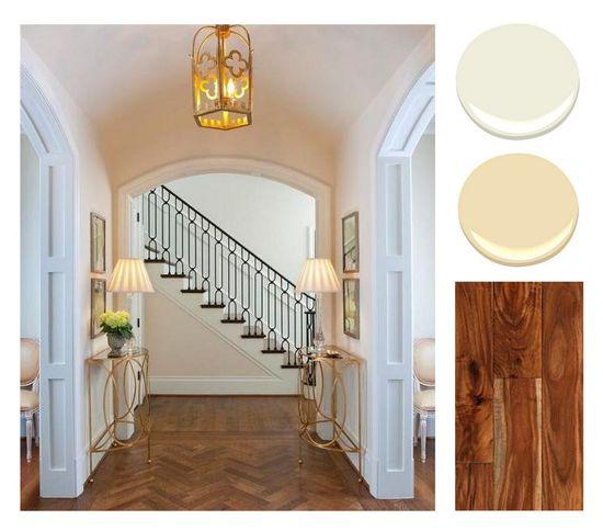 Palette and floor design direction