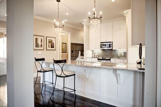 White kitchen...LOVE!