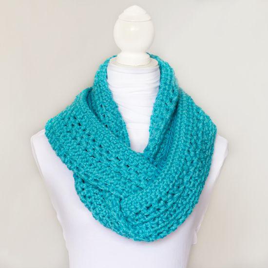 Basic Circle Scarf Crochet Pattern