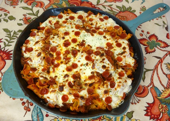 Pizza Pasta Skillet