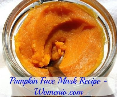 Pumpkin Face Mask - 15 Homemade Facial Masks For A Variety Of Different Skin Types
