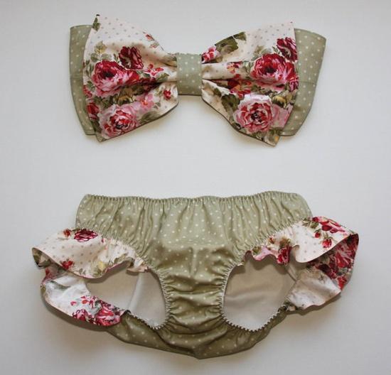 floral bikini