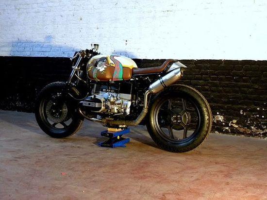 BMW Cafe Racer - Motokouture - Ottonero