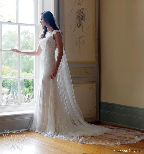 Suzanne Neville Wedding Dresses 2012 — Nostalgia Bridal Collection