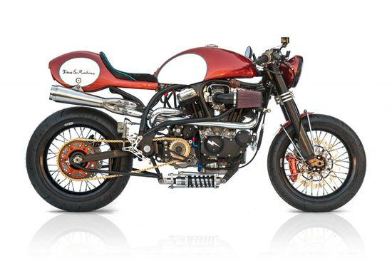 The Bully, Deus America #custom #motorcycle