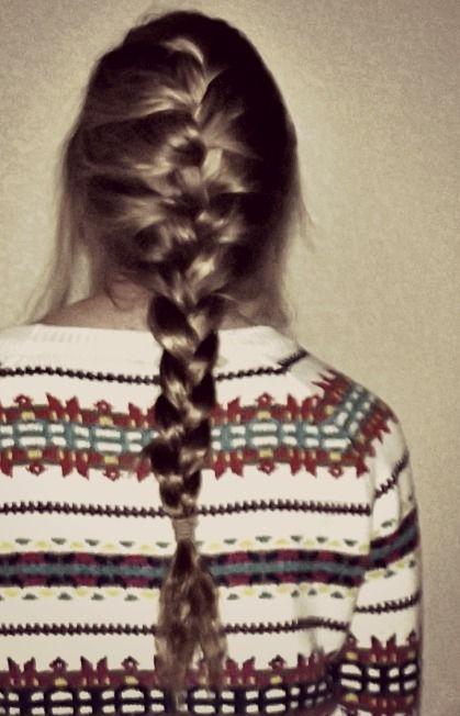 cozy + French braid