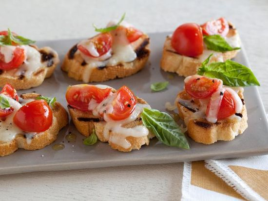 Bruschetta Pizzaiola Recipe : : Recipes : Cooking Channel